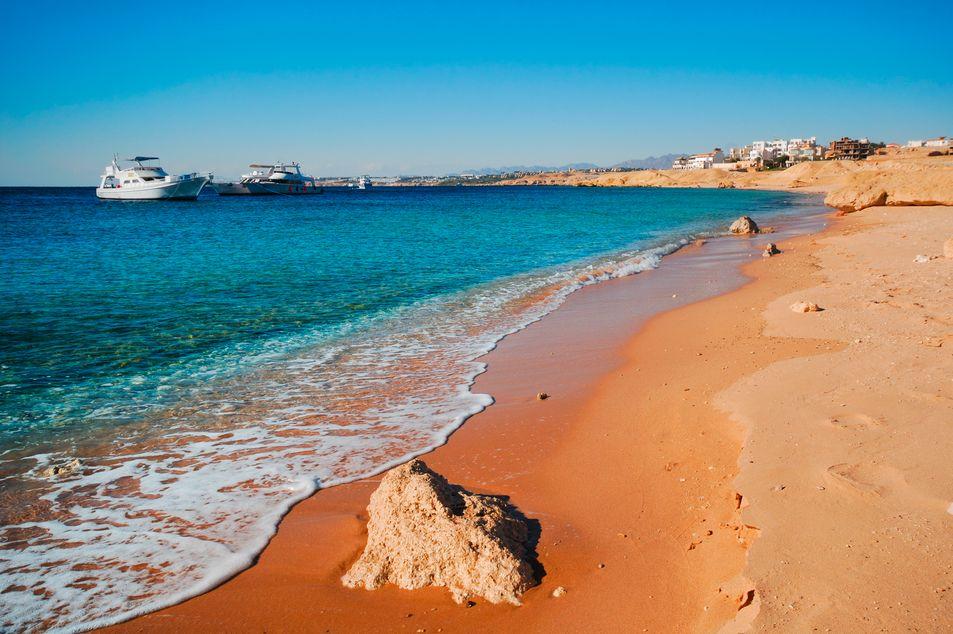 Strand von Sharm el-Sheikh, Ägypten