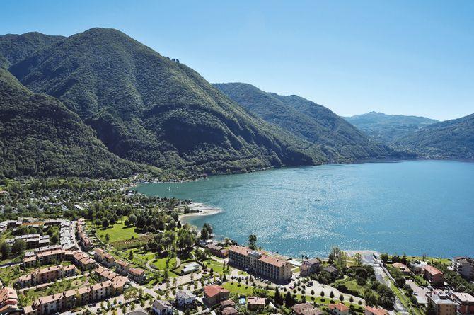 Village de vacances Porto Letizia, Lac de Lugano (côté italien)