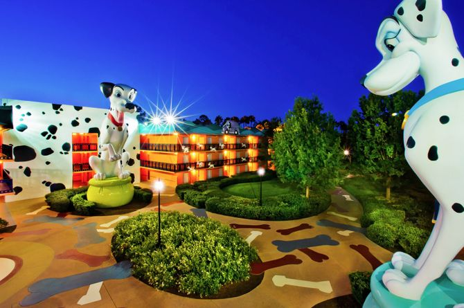 Disney's All Star Movie Resort, Orlando & Umgebung
