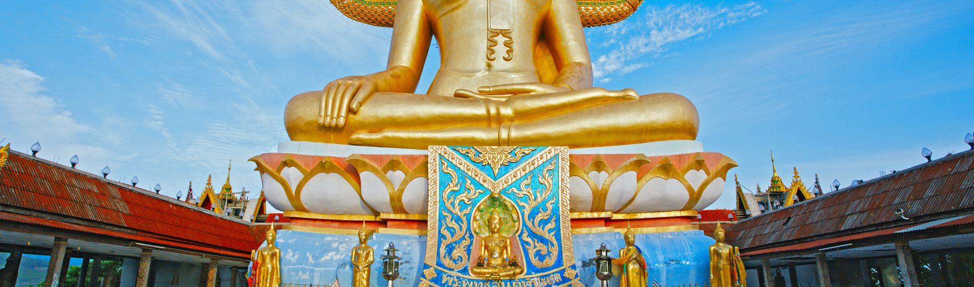 Côte nord de Koh Samui