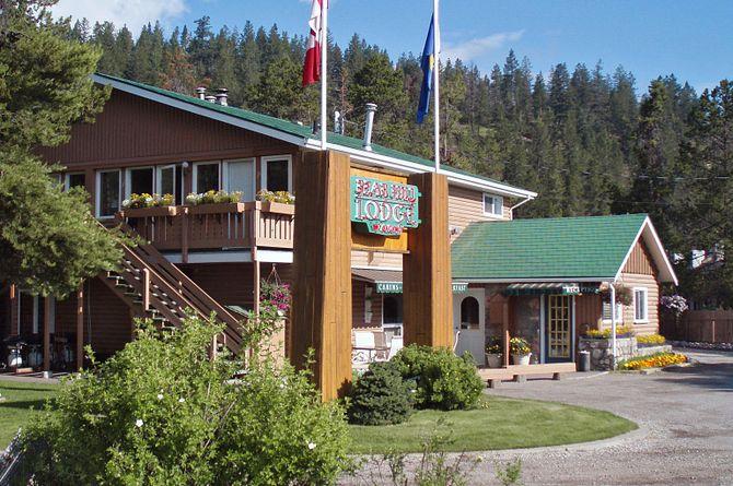 Lodge Bear Hill, Jasper