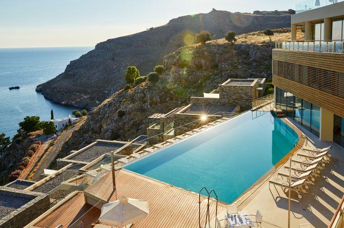 Lindos Blu Luxury Hotel & Suites, Rhodos