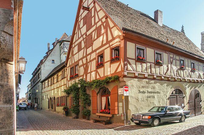 Hôtel Reichsküchenmeister, Rothenburg ob der Tauber