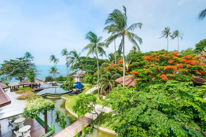 Outrigger Koh Samui Beach Resort, Koh Samui