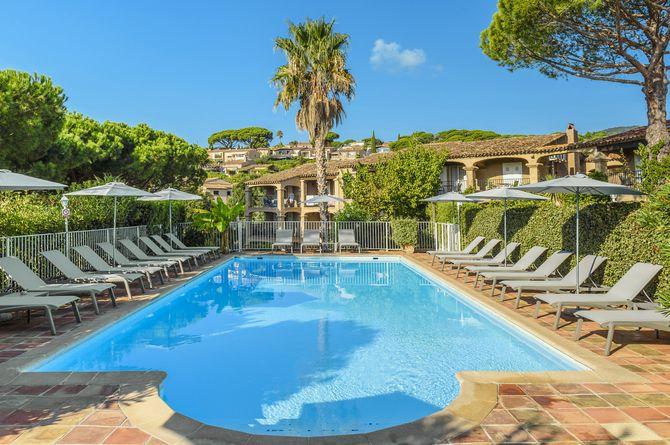 Hôtel Domaine du Calidianus, Saint-Tropez & ses environs (Côte d'Azur - Midi de la France)