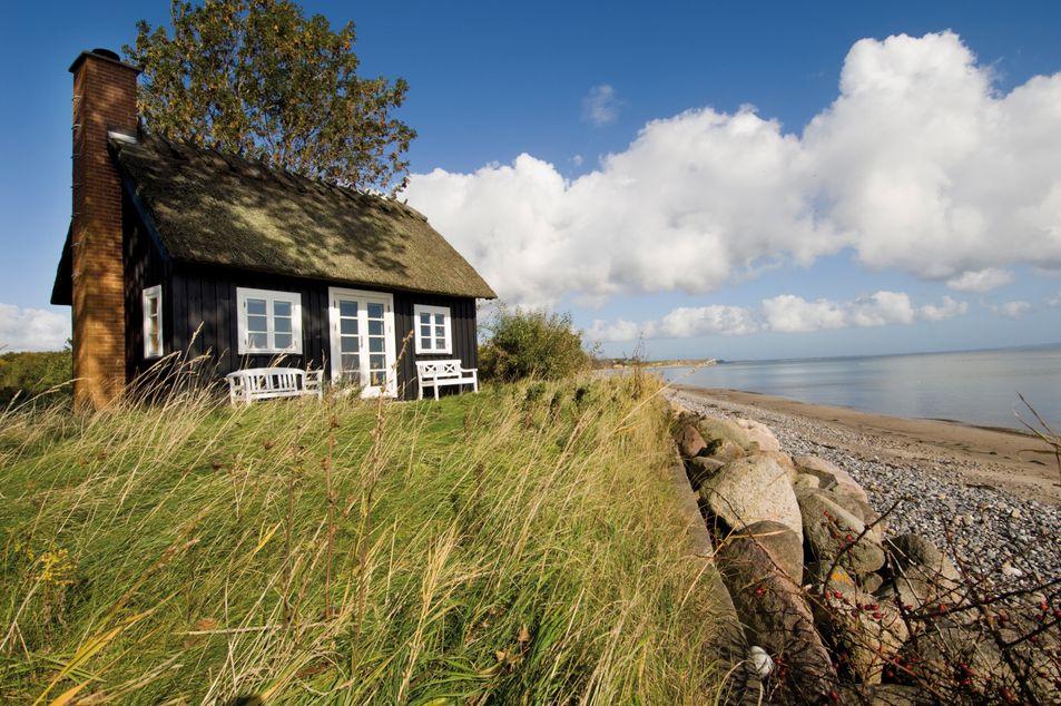 Maison de plage traditionnelle