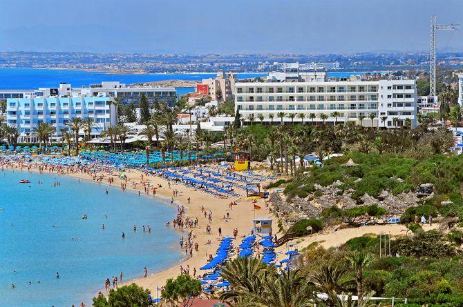 Nelia Beach, Zypern