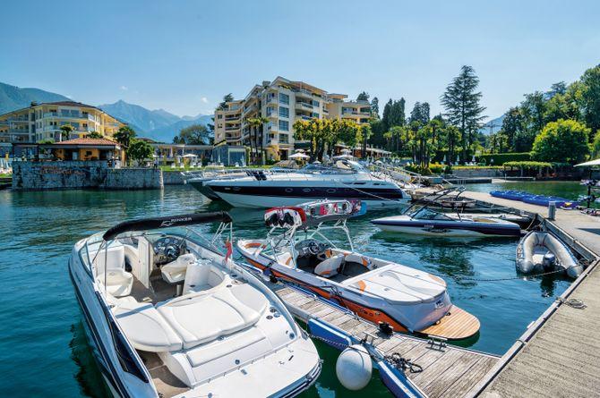 Hotel Eden Roc, Lago Maggiore (Schweizer Seite)