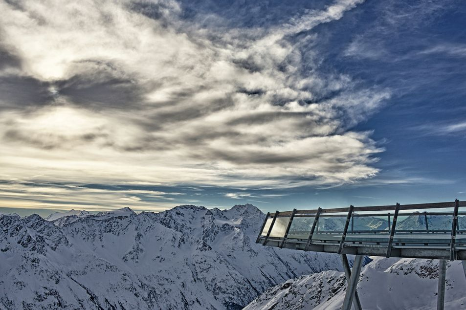 Vue panoramique du Gaislachkogl