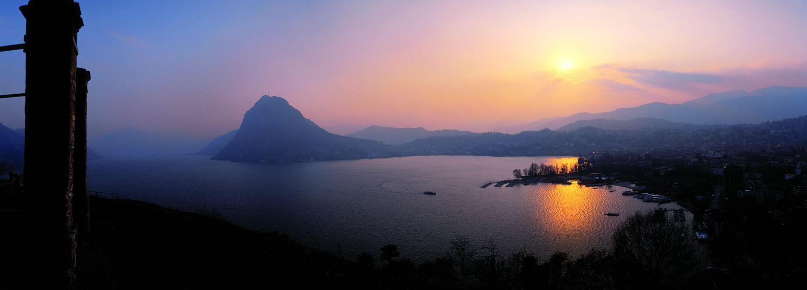 Lac de Lugano (côté italien)