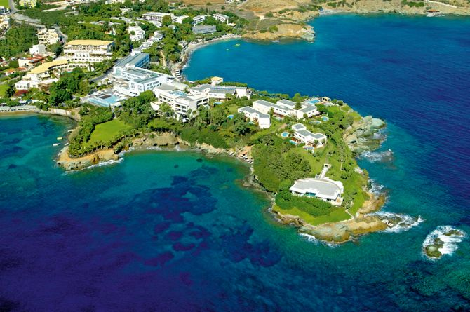 Out of the Blue Capsis, Crète