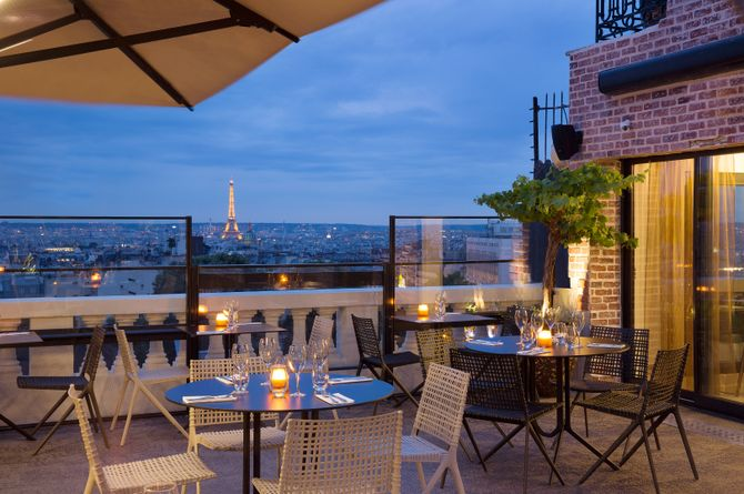 Terrass Hotel, Paris