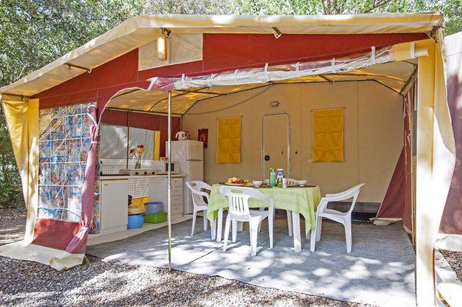 Camping Village Montescudaio, Südtoskana