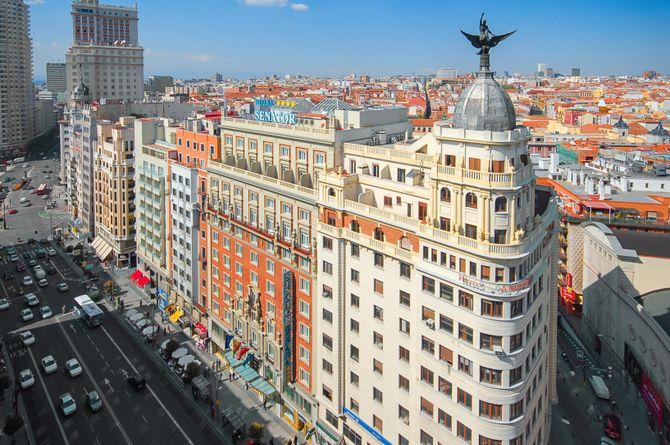 Senator Gran Vía 70 Spa Hotel, Madrid & ses environs