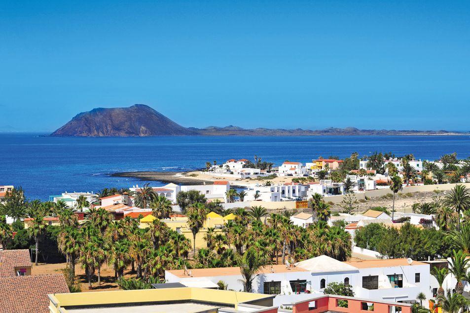 Blick auf Corralejo
