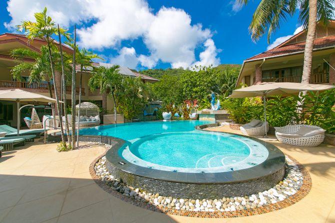 Le Duc de Praslin Hotel & Villas, Seychellen