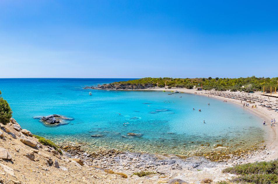 Glystra Beach à Lardos