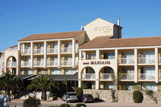 Hotel Mariana Calvi, Korsika Westküste
