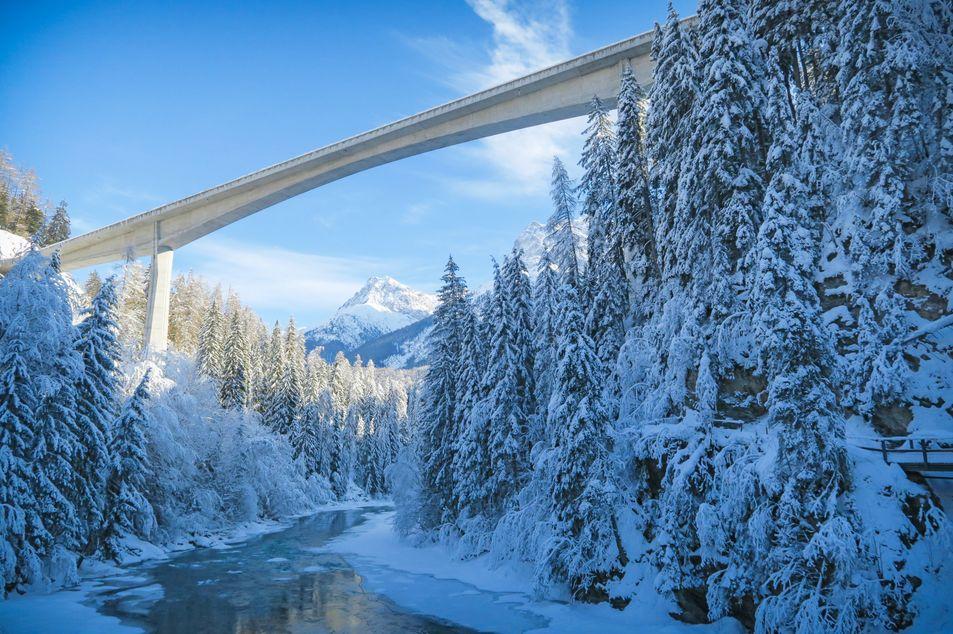 Punt d'En Vulpera Brücke