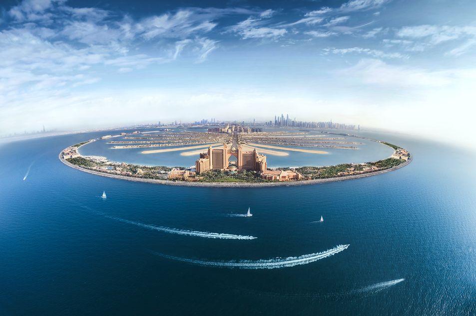 Hotel Atlantis auf der Palmeninsel Jumeirah