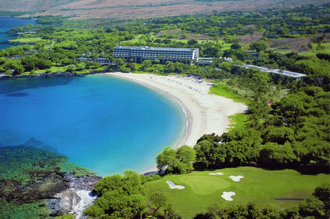Mauna Kea Beach Hotel, Hawaii Island