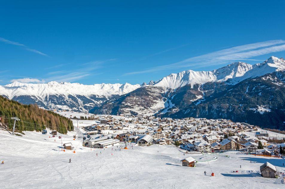 Piste de ski dans l'Oberinnntal