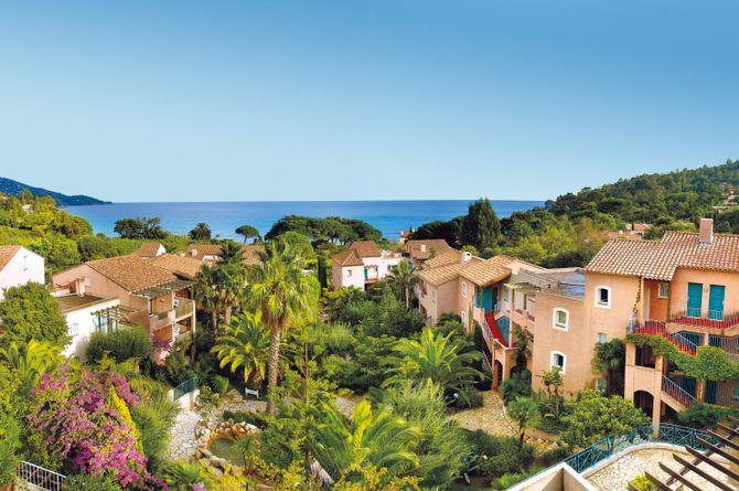 Résidence P & V «L'Anse de Pramousquier», Saint-Tropez & ses environs (Côte d'Azur - Midi de la France)