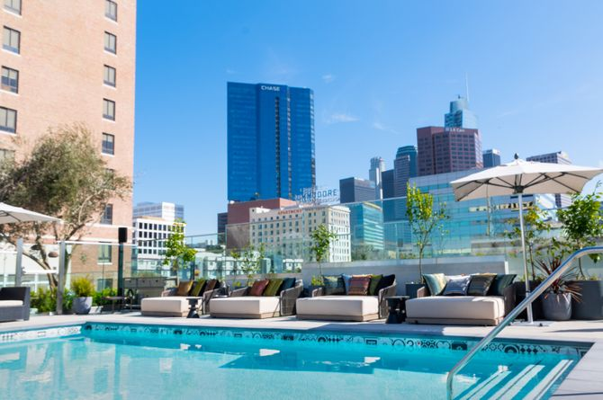 The Mayfair Hotel, Los Angeles