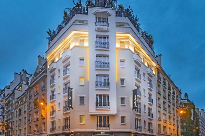Felicien Hôtel by Elegancia (incl. TGV de/à Zurich/Bâle et forfait excursions), Paris
