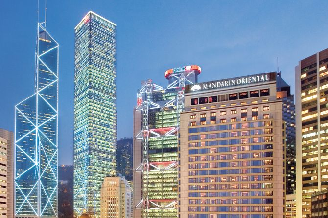 Mandarin Oriental Hong Kong, Hong Kong