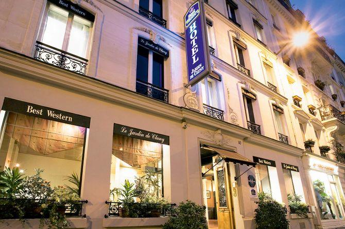 Best Western Hotel Jardin de Cluny, Paris