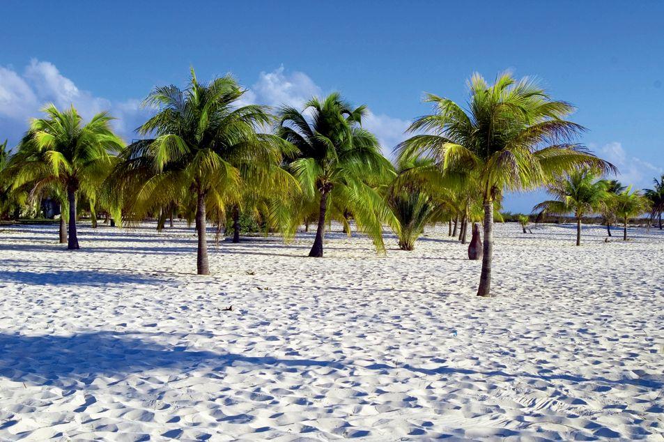 Strand auf der Insel