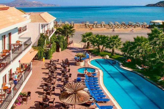 Almyrida Beach, Kreta