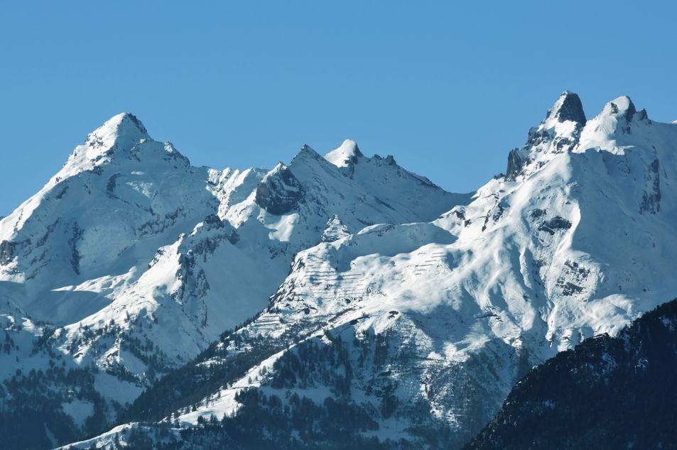 Les montagnes Muverans