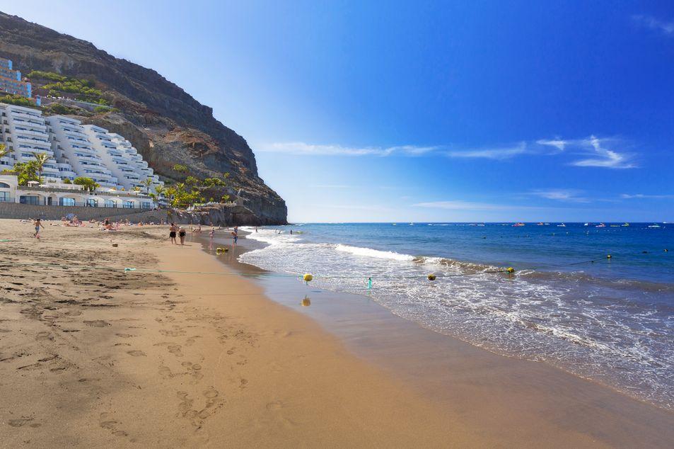 Plage populaire Playa de Taurito