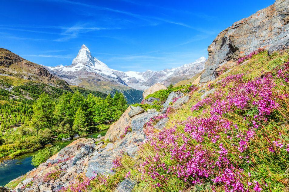 Zermatt im Sommer