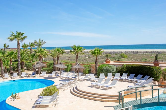 Les Bulles de Mer, hôtel spa sur la lagune, Languedoc-Roussillon (Midi de la France)