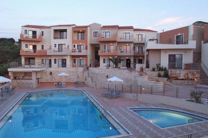 Sunrise Suites, Kreta