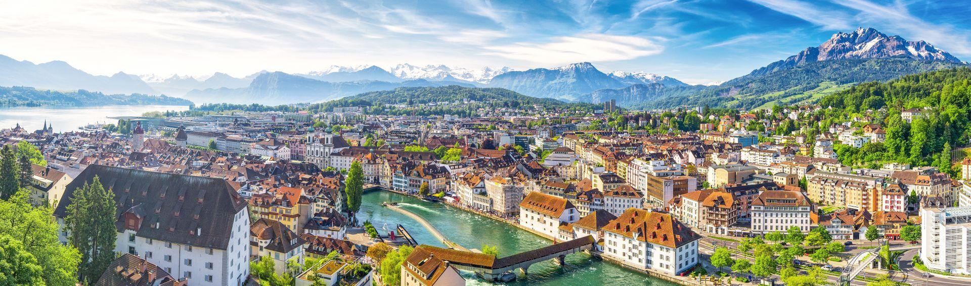 Lucerne & Lac des Quatre-Cantons