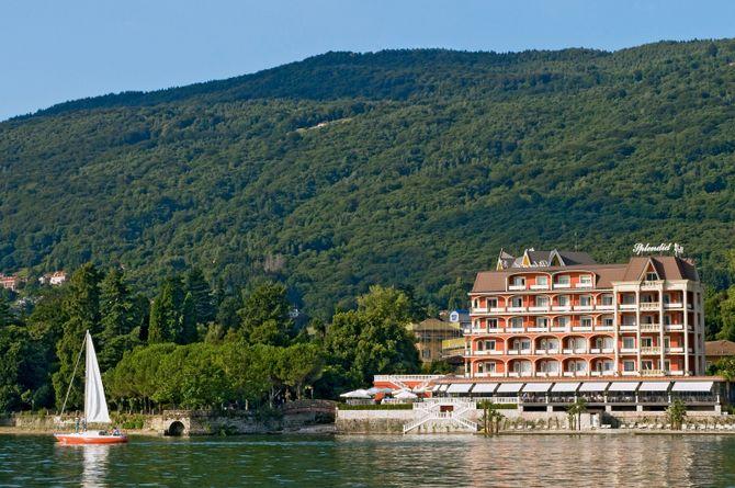 Hôtel Splendid, Lac Majeur (côté italien)
