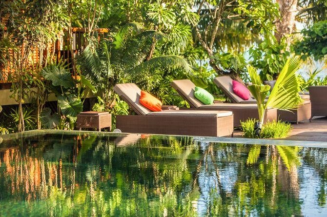 Dhevatara Beach Hotel, Seychellen