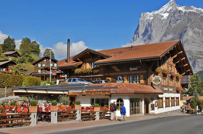 Hôtel Steinbock, Région de la Jungfrau