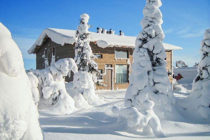 Maison en bois Fjelltop, Syöte