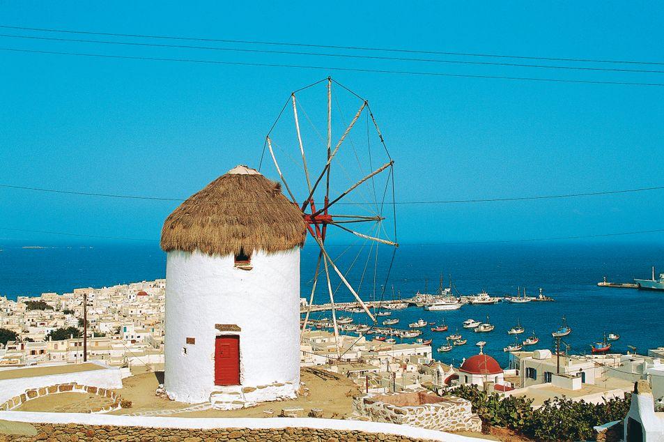 Windmühle auf Mykonos