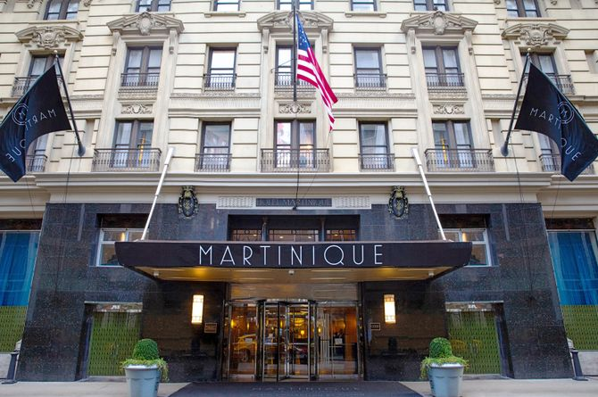 Martinique New York on Broadway, Curio Collection by Hilton, New York City