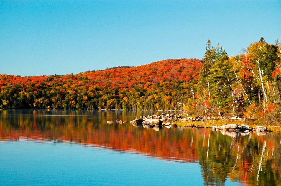 Canada oriental en automne