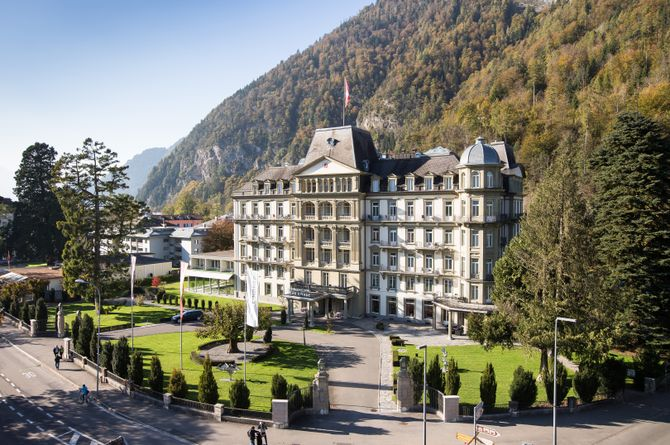 Lindner Grand Hotel Beau Rivage, Lac de Thoune / Lac de Brienz