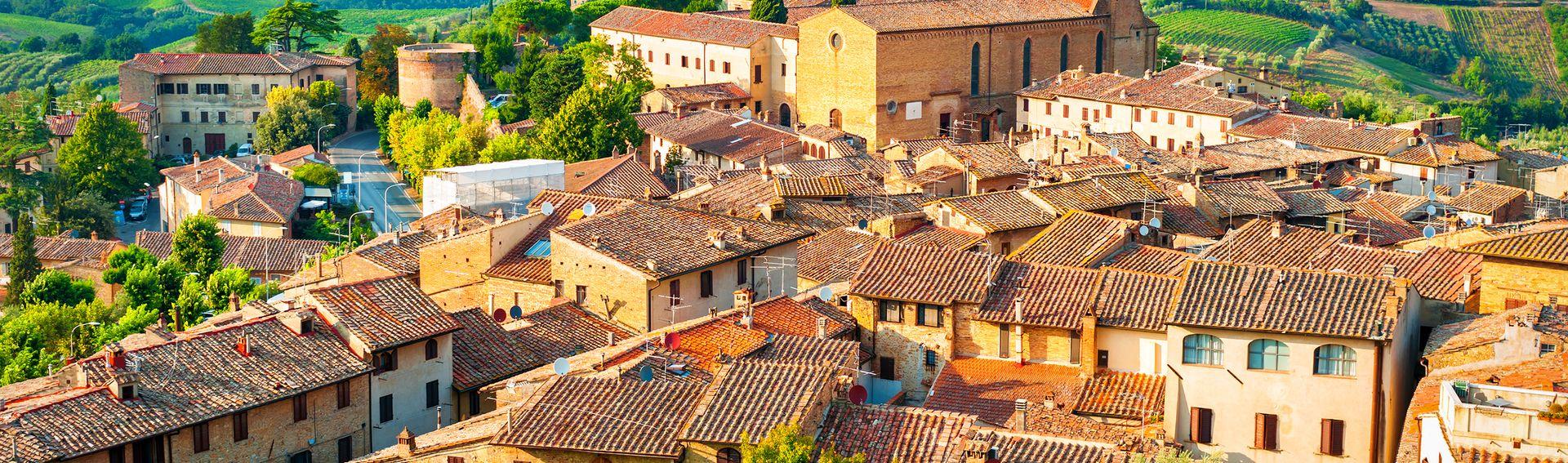 San Gimignano / Volterra