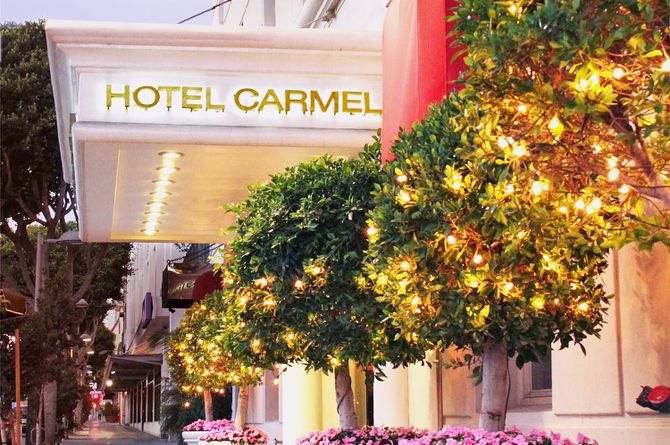 Hotel Carmel, Los Angeles