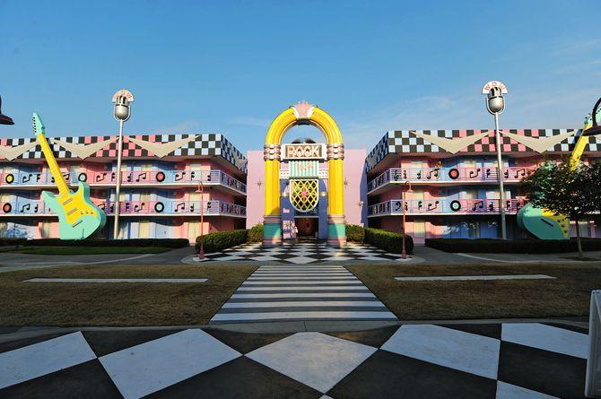 Disney's All Star Music Resort, Orlando & ses environs